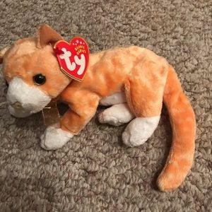 Ty Beanie Baby Tabs the Cat